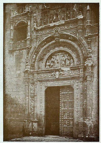 263_TRA-1927-246-Hospital de Santa Cruz, portada-Foto Clavería