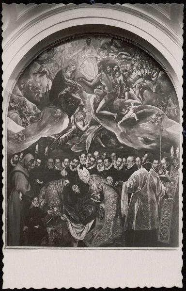 27 - 003 - Toledo - Iglesia de Santo Tomé. Entierro del Conde de Orgaz (Greco)