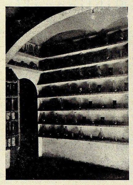 281_TRA-1928-260-Hospital Tavera, botica, vidrios-Foto Rodríguez