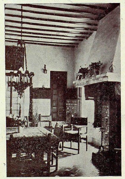 289_TRA-1927-249-Mansión Los Barreros de Pedro Cifuentes, comedor-Foto Rodríguez