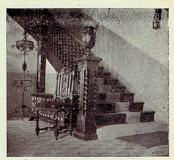 293_TRA-1927-249-Mansión Los Barreros de Pedro Cifuentes, zaguán-Foto Rodríguez