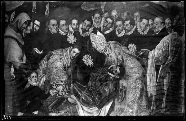 30 - 173 - Toledo - Iglesia de Santo Tomé. Entierro del Conde de Orgaz (Greco)