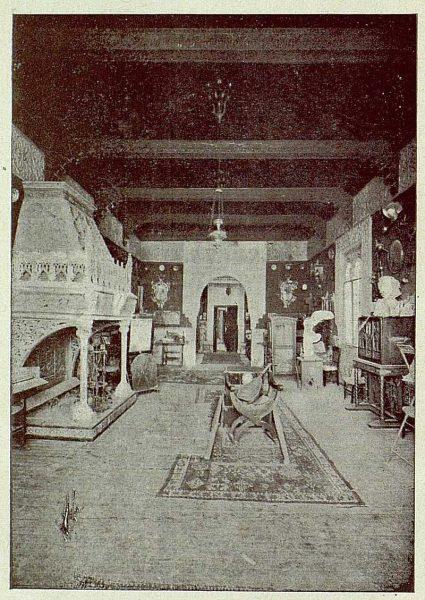 308_TRA-1921-178-Palacio de Benacazón, uno de los salones