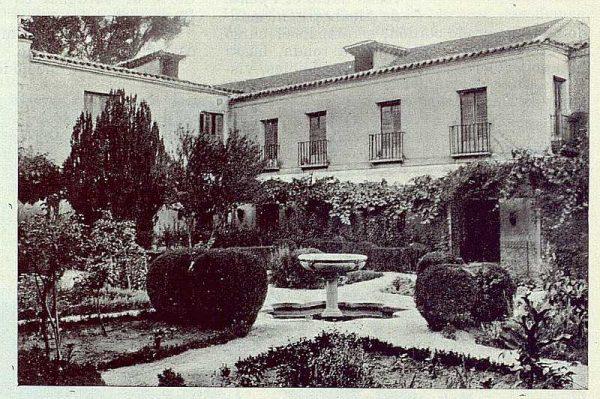 321_TRA-1924-205-Palacio de Buenavista, jardín-Foto Rodríguez