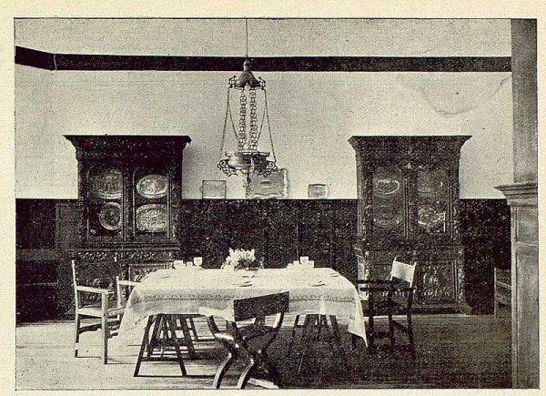 322_TRA-1925-219-Palacio de Buenavista, comedor-Foto Rodríguez