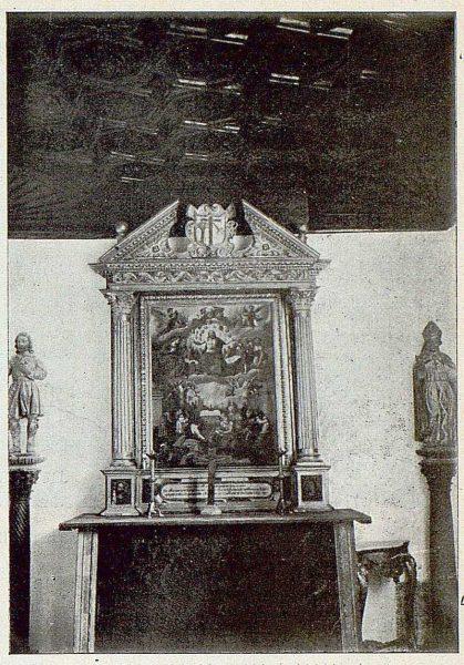 323_TRA-1925-219-Palacio de Buenavista, detalle de la Capilla-Foto Rodríguez