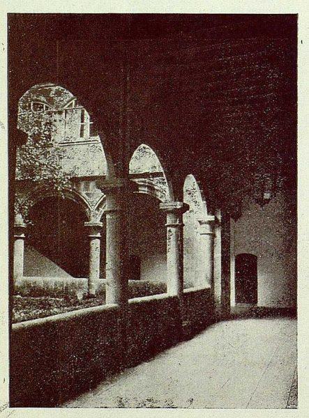 335_TRA-1925-222-Palacio de Guisando, claustro bajo-Foto Rodríguez
