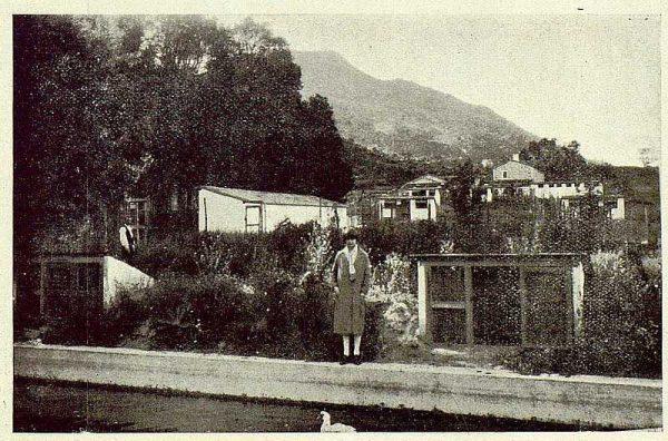 337_TRA-1925-222-Palacio de Guisando, detalle de la granja avícola-Foto Rodríguez