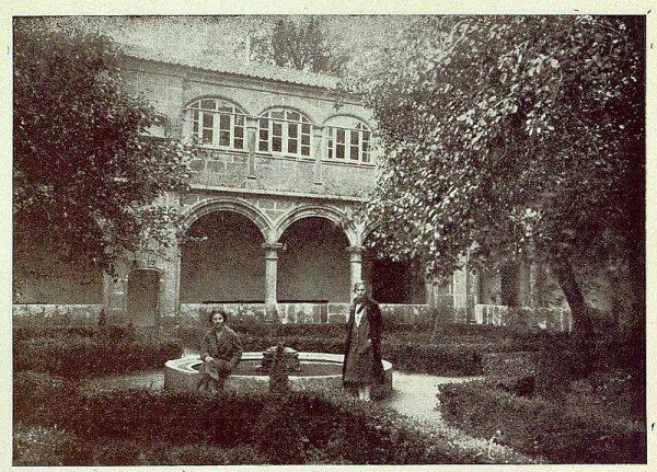 341_TRA-1925-222-Palacio de Guisando, jardín-Foto Rodríguez