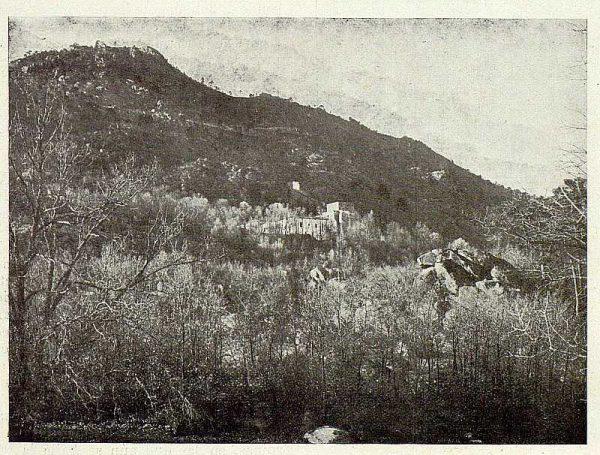 343_TRA-1925-222-Palacio de Guisando, vista de la casa-Foto Rodríguez