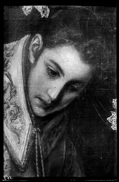 35 - 163 - Toledo - Entierro del Conde de Orgaz. Cabeza de San Esteban (El Greco)