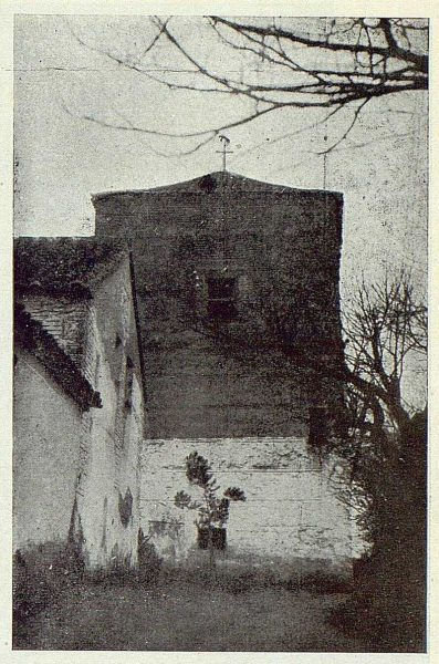 352_TRA-1924-203-Palacio de Higares de los Duques de la Vega, torre primitiva-Foto Rodríguez