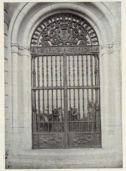 367_TRA-1925-217-Palacio de la Sisla, reja del zaguán de Julio Pascual