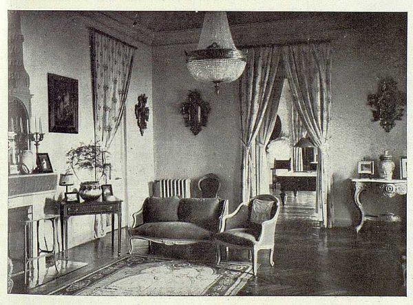 378_TRA-1922-183-Quinta de los Duques de Bailén, uno de los salones