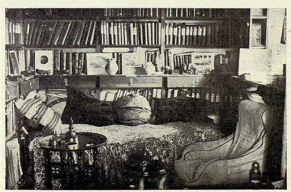 385_TRA-1926-230-Villa Luisa, el hotel Rómulo Muro, biblioteca