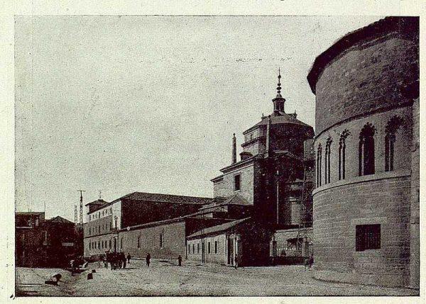 398_TRA-1929-271-Carretera de Madrid a su entrada en Toledo