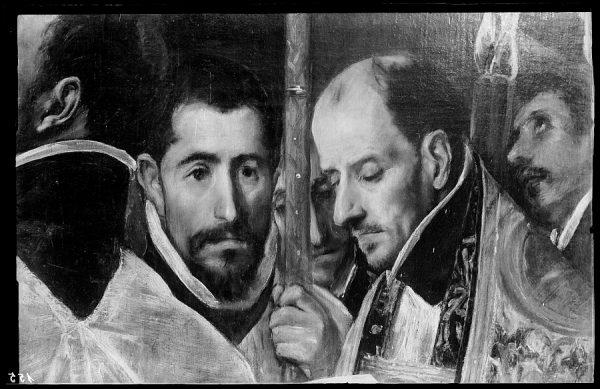 42 - 155 - Toledo - Entierro del Conde de Orgaz. Don Andrés Núñez de Madrid (El Greco)