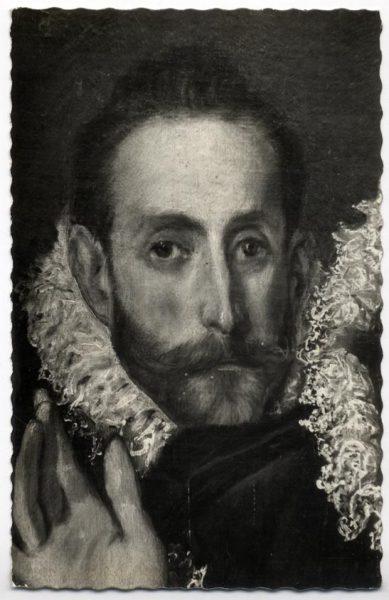 45 - 157 - Toledo - Entierro del Conde de Orgaz. Autorretrato del Greco (El Greco)