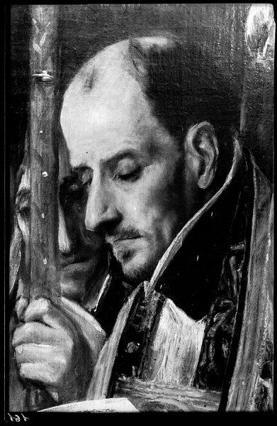 46 - 161 - Toledo - Entierro del conde de Orgaz. Detalle (El Greco)