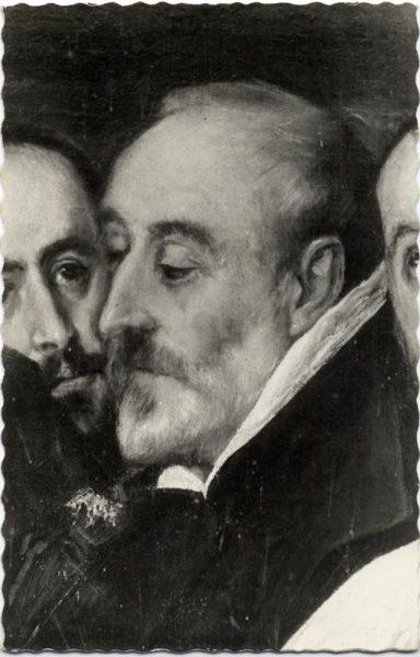 50 - 169 - Toledo - Entierro del Conde de Orgaz. Don Antonio Covarrubias (El Greco)