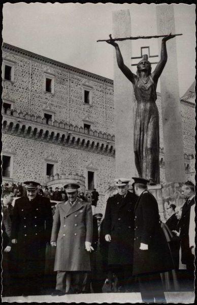504 - Toledo - Inauguración del Monumento a los Héroes del Alcázar