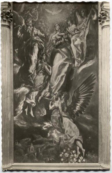 51 - 171 - Toledo - Museo de San Vicente. La Asunción de la Virgen (El Greco)