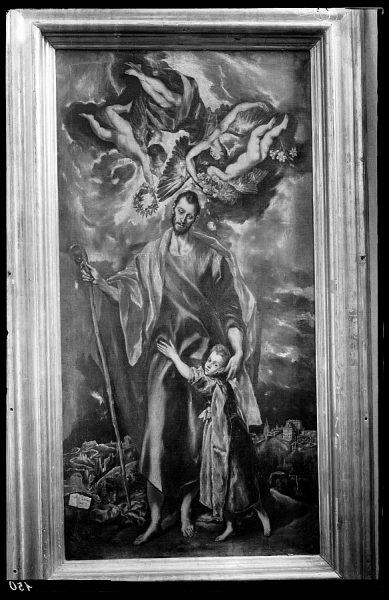 52 - 150 - Toledo - Museo de San Vicente. San José y el Niño (El Greco)
