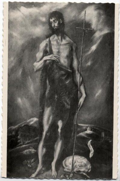 53 - 102 - Valencia - Museo Provincial de Bellas Artes. San Juan Bautista (Doménico Theotocopuli El Greco)