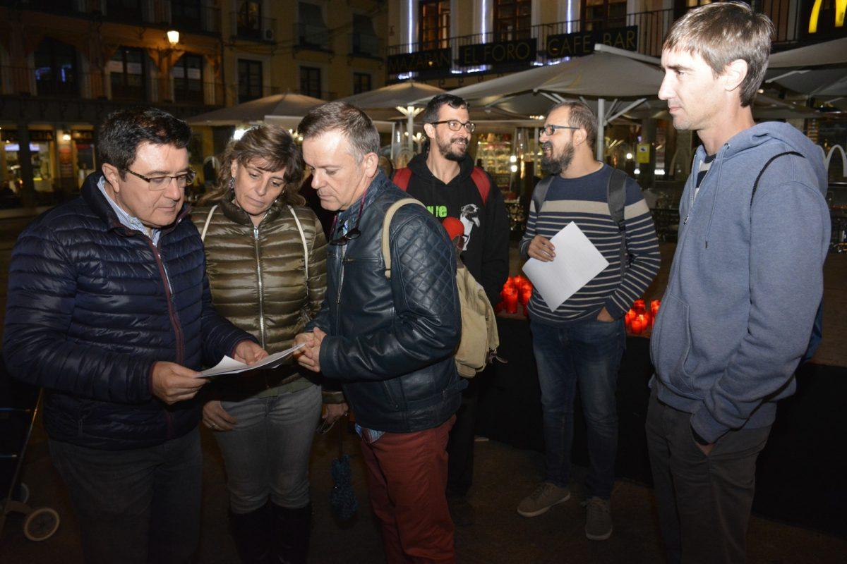 http://www.toledo.es/wp-content/uploads/2019/10/ahige_1-1200x800.jpg. La Asociación de Hombres por la Igualdad de Género cuenta con respaldo municipal en su décima Rueda contra la Violencia Machista