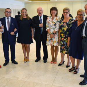 n amplio número de socios de ASVAT celebra el inicio de curso con una comida y el apoyo del equipo de Gobierno de la alcaldesa Milagros Tolón