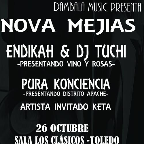 https://www.toledo.es/wp-content/uploads/2019/10/bambalaweb2.jpg. Concierto: Nova Mejias · Endikah & DJ Tuchi · Pura Konciencia · Keta
