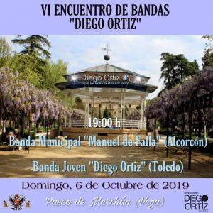 l templete de la música del Parque de La Vega acoge este domingo el VI Encuentro Anual de Bandas de Música 'Diego Ortiz'