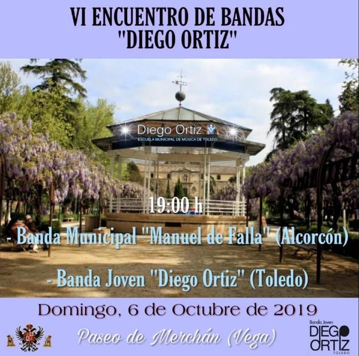 https://www.toledo.es/wp-content/uploads/2019/10/bandas.jpg. El templete de la música del Parque de La Vega acoge este domingo el VI Encuentro Anual de Bandas de Música 'Diego Ortiz'