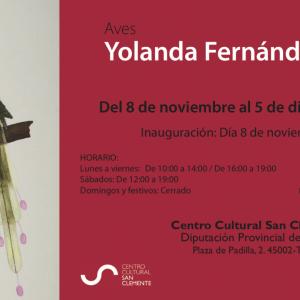 Exposición: Acuarelas de aves, de Yolanda Fernández Castro