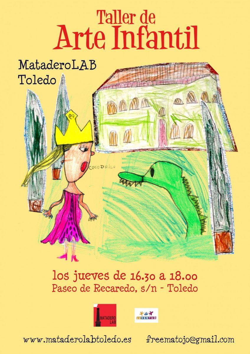https://www.toledo.es/wp-content/uploads/2019/10/cartel-arte-infantil-2019-20-1-848x1200.jpg. Taller de Arte Infantil