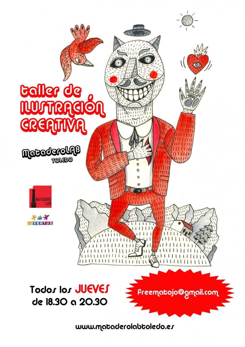 http://www.toledo.es/wp-content/uploads/2019/10/cartel-ilustracion-creativa-2019-20-848x1200.jpg. Taller de ilustración creativa