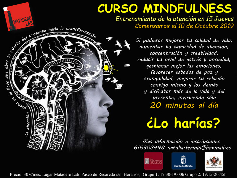 http://www.toledo.es/wp-content/uploads/2019/10/cartel-mindfundless.jpg. Taller de formación: Mindfulness