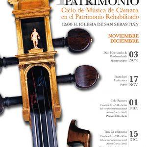 Jornadas de Música y Patrimonio: Francisco Cañizares al piano