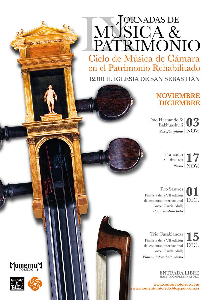 https://www.toledo.es/wp-content/uploads/2019/10/cartel_ixjornadasweb-01.jpg. Jornadas de Música y Patrimonio: Francisco Cañizares al piano
