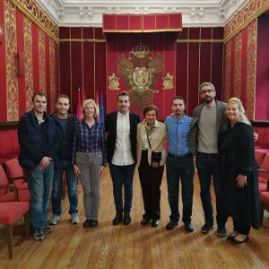 espaldo municipal al I Congreso Internacional de Fisioterapia de Castilla-La Mancha que se celebra este fin de semana en Toledo