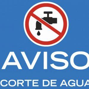 ste viernes 4 de octubre habrá un corte de suministro de agua en la calle Río Cascajoso para la mejora de la red de abastecimiento