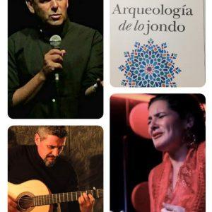 """Presentación de libro-concierto. """"Flamenco, arqueología de lo jondo"""" de Antonio Manuel Rodríguez Ruíz"""