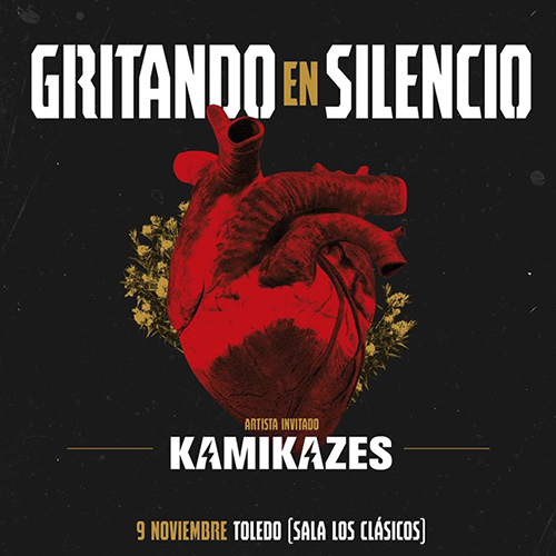 https://www.toledo.es/wp-content/uploads/2019/10/gritandoweb.jpg. Concierto: Gritando en Silencio + Kamikazes