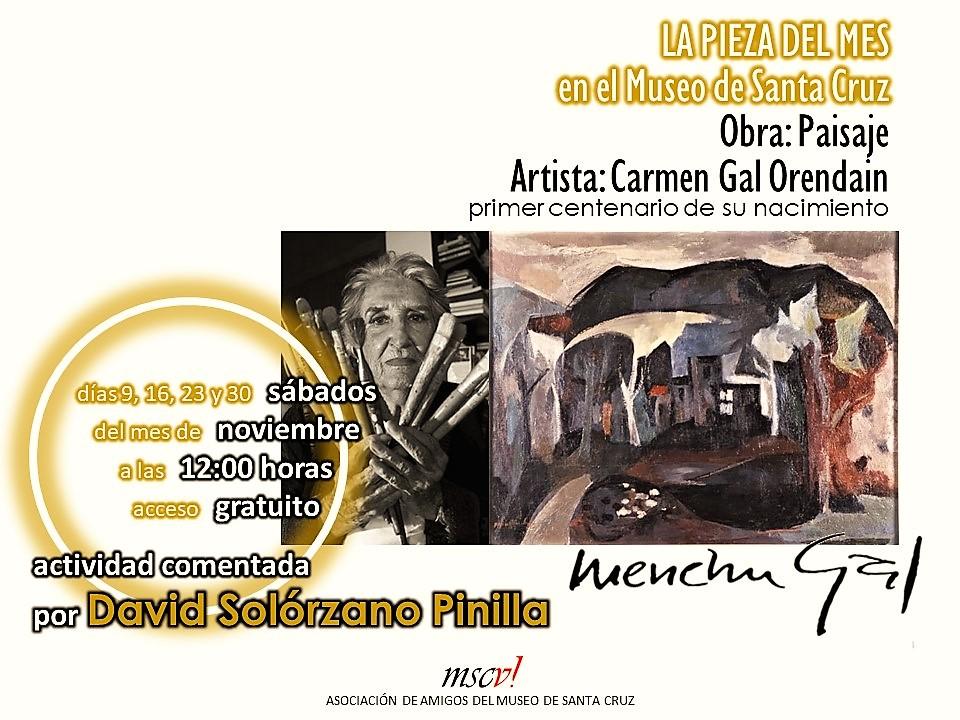 """http://www.toledo.es/wp-content/uploads/2019/10/image.png. Pieza del mes: Exposición comentada del cuadro """"Paisaje"""""""