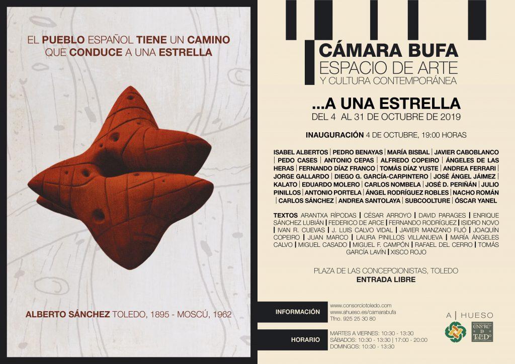 """http://www.toledo.es/wp-content/uploads/2019/10/invitacion-a-una-estrella-1-1024x724.jpg. Exposición colectiva: Homenaje a Alberto Sánchez, """"…a una estrella"""""""