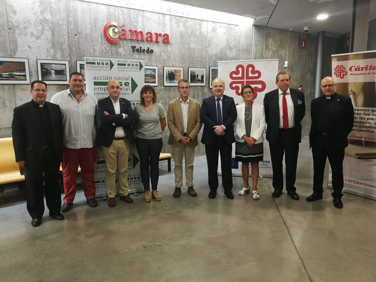 http://www.toledo.es/wp-content/uploads/2019/10/jornadas-empresas-y-bien-comun_1-1200x900.jpeg. El Ayuntamiento invita a Cáritas Diocesana a sumarse a los programas de empleo que ya perfila para el próximo año 2020