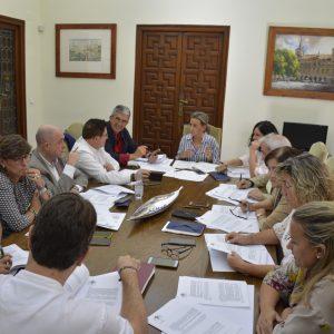 cuerdo con Fomento y  Junta de Comunidades para el Área de Renovación Urbana del Casco Histórico con más de dos millones de euros.