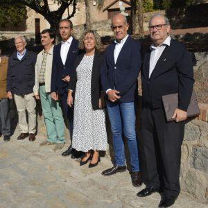 l Ayuntamiento recupera un espacio verde en las Carreras de San Sebastián como jardín simbólico de las Tres Culturas