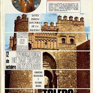 """Toledo en la revista Mundo Hispánico"""",  nueva exposición del Archivo Municipal"""