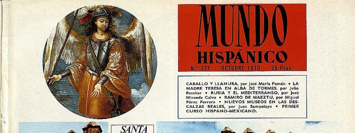 Toledo en la revista Mundo Hispánico (1948-1971)